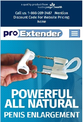 ProExtender  Enlargement System Size Centimeters